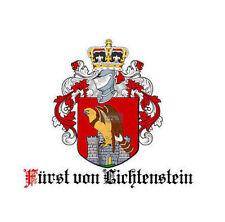 FÜRSTIN von LICHTENSTEIN zu STERNBERG Adelstitel mit SCHLOSSANTEIL