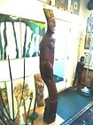 ABSTRACT FIGURAL WOOD SCULPTURE / CUBIST / CUBISM / ABSTRACT/ SIGNED
