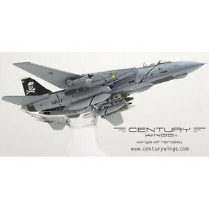 "Grumman F-14 Tom Cat of the US Navy ""Jolly Rogers"" from Century Wings 1:72 metal"