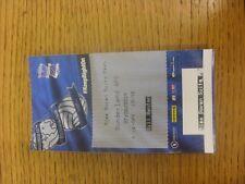 27/08/2014 Ticket: Birmingham City v Sunderland [Football League Cup] (Alex Gova