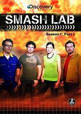 Smash Lab: Season 1 - Part 1 (DVD, 2008, 3-Disc Set) WORLDWIDE SHIP AVAIL!