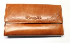 Wrangler  Ladies Leather Clutch Wallet - Brown - New