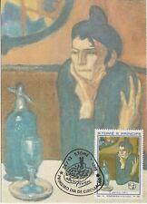 """Tome Principe """" L ´ Aperitivo Quadro dipinto Picasso Maxi Card"""