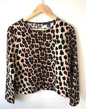 ZARA  Leopard Print Womens Top Size M