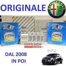 KIT TAGLIANDO FILTRI ORIGINALI + OLIO + 4 CANDELE ALFA ROMEO MITO 1.4 GPL GAS