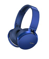New listing Sony Mdrxb950Bt/L (Blue) Bluetooth Extra Bass Headphones w/Mic Over The Ear
