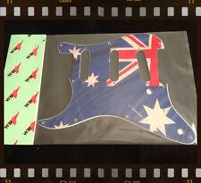 PICKGUARD FOR FENDER® STRATOCASTER® LEFT HAND SSS - Aussie Flag