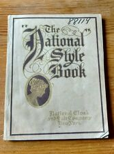 1911 National Cloak and Suit Co. Catalog New York Style Book Fashion Advertising