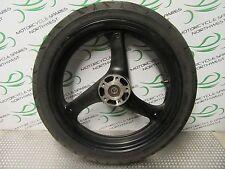 SUZUKI GS500 2004 K4 FRONT WHEEL RIM & TYRE BK307