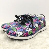 ALEGRIA ESSENCE ALL TOGETHER NOW LEATHER SNEAKERS WOMEN'S SIZE 36 US 6