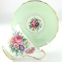 Vintage Paragon Double Warrant Teacup and Saucer Fine Bone China England S199