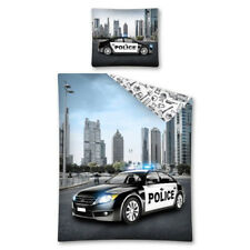 Police car Youth bedding Single Bed Duvet Cover Set 100% COTTON