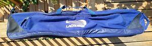 Nike Lacrosse Duffel Carry All Bag Navy Blue