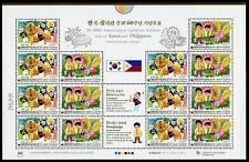 Corée Sud 2009 PHILIPPINES Philippines fermement Joint Issue 2692-93 Klein Arc Neuf sans charnière