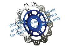 Apto Yamaha FJR 1300 (No ABS / 5jw) 01>04 EBC VR Disco de Freno Azul Buje
