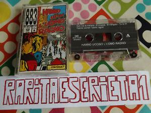 Tape 883 Hanno Ucciso l'uomo ragno Cassette Cassetta Musicassette