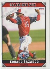 2019 Salem Red Sox Eduard Bazardo RC Rookie Boston