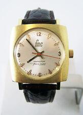 Gold HAMILTON FMC Mens THIN-O-Matic Watch c.1970s Cal 623* EXLNT SERVICED