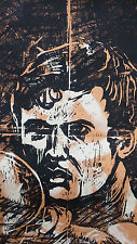 "WILLIAM RAND, American Artist  ""FENCER"" ARTIST PROOF 1991"