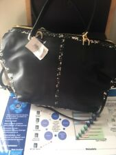 NWT COACH BLEECKER TWO TONED PYTHON LEATHER COOPER SATCHEL 27984