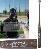 Alexei Ramirez SD Padres Autograph Signed Baseball Bat White Sox Rays Proof