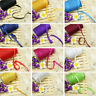 65m Insertion Cord Piping Binding Tape Satin Flanged Rope Sewing Cloth DIY Craft