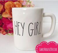 Rae Dunn HEY GIRL Mug Coffee Cup Home Decor Valentine's Day Gift New