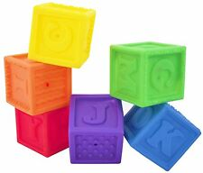 Squirter Set 6 Blocks Stephan Baby  Bloques para bebes