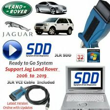 Jaguar Land Rover Diagnostics kit IDS SDD JLR + Cable + Laptop  V159