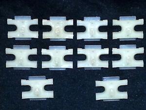 Opel NOS Belt Body Door Fender Molding Moulding Rivet Trim Clip Clips 10pcs F