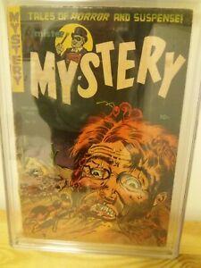 Mister Mystery #11 Pre Code Horror Comic Book (CGC 1.8) Rare Find!