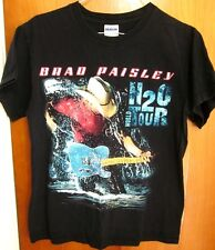 BRAD PAISLEY concert T shirt small tee H2O World Tour country 2010