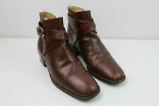 RUSSELL&BROMLEY Brown Leather Boots size Eu 36.5