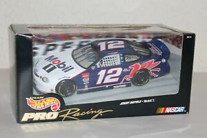Hot Wheels Pro Racing Jeremy Mayfield #12 Mobil 1:24 Scale NASCAR NIB