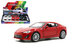Toyota 86 1:34-1:39 Diecast Car White / Red / Black Model Collection New Gift