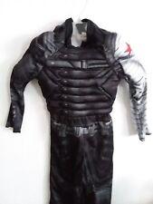 Marvel Capitan America the winter solder costume 4-6 boy kids