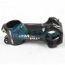 New ITM A-Speedry Carbon wrap Handlebar Head Stem 31.8mm 80mm for Mountain Road