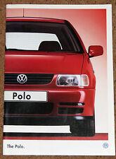 1995 VW POLO Sales Brochure - L CL GL GLX - Excellent Condition