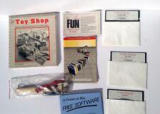 Vintage 1986 Mac/Macintosh Software The Toy Shop – 20 Marvelous Mechanical Model