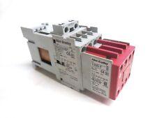 ALLEN BRADLEY SAFETY CONTROL RELAY 700S-CF620DJC 700-CF310D 100S-F 24V DC 8 POLE
