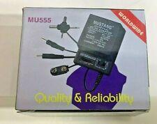 Universal AC/DC Adapter 500mA 1.5-3-4.5 6-7.5-9-12V FREE SHIPPING! MU-555