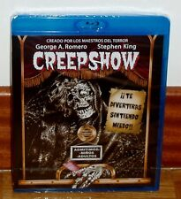CREEPSHOW-BLU-RAY-NUEVO-NEW-SEALED-PRECINTADO-STEPHEN KING-TERROR-*(SIN ABRIR)*