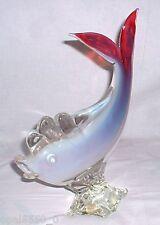 Murano Glasfisch 29,5 cm - Opalglas Fisch Seguso Opakglas Sommerso  um 1950