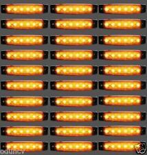x30 24v LED Lateral Marcador Amarillo posición luces para IVECO DAF MAN SCANIA