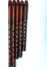 Turkish Good Quality  Plum Wood Dilli KAVAL TUTEK Shivi Flute  (Single)