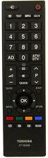 Genuine Toshiba  LCD TV 75014827 Remote Control CT90326 and CT-90326