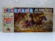 RARE Vintage 1962 Ed-U-Cards Cinerama MGM Brothers Grimm 350 Pc Jigsaw Puzzle Vg