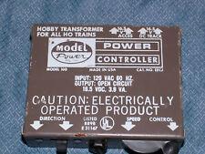 VINTAGE 1970S MODEL POWER HOBBY TRANSFORMER  HO TRAINS