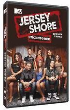 JERSEY SHORE SEASON 3 DVD  COMPLETE SERIES 3 UNCENSORED 4 DISC SET