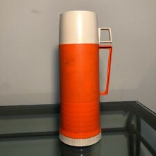 Vintage Thermos Orange Filler 22F Stopper 722 Cup 22A63